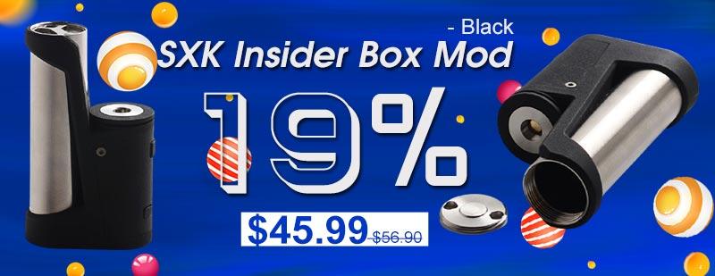 SXK Insider Box Mod - Black